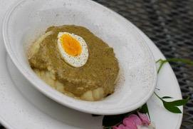 Sorrel and nettle stew (Sóska és csalánfözelék)