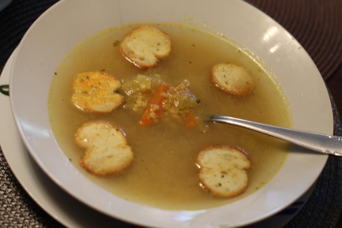 Kohlrabi soup (karalábéleves)