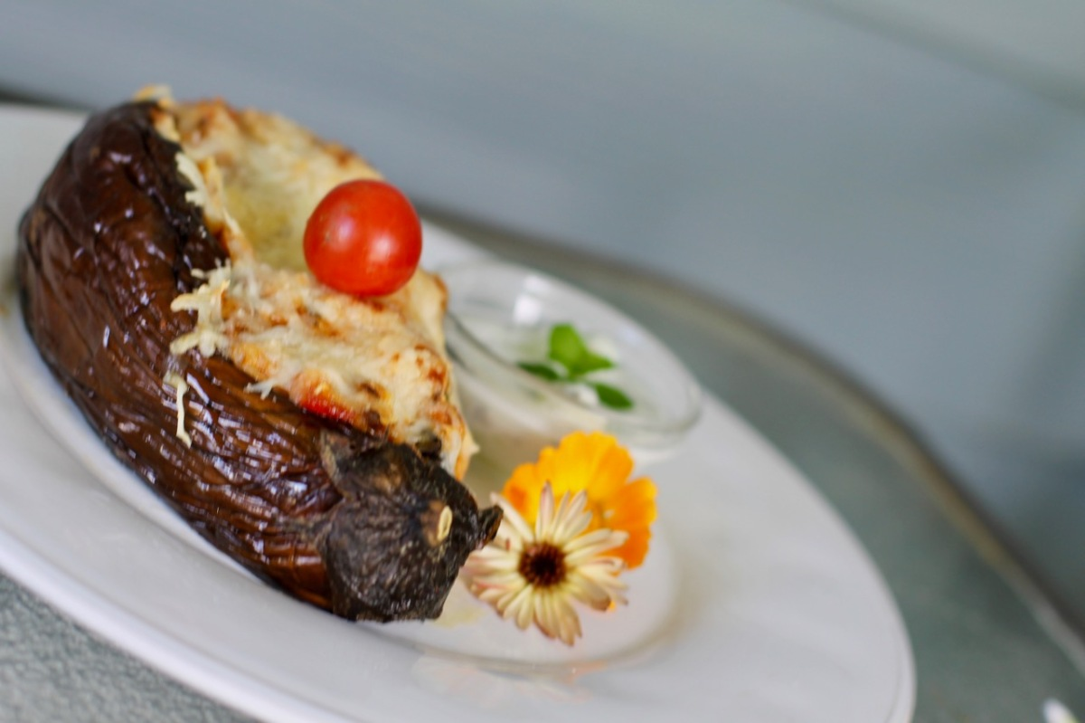 Turkish stuffed eggplants (vegetarian)